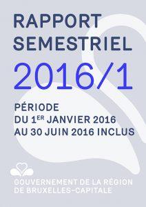 Photo du rapport semestriel 1 année 2016